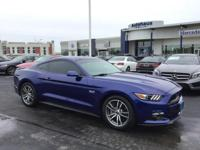 New Price! 2015 Ford Mustang GT Kona Blue Metallic