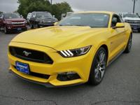 New Price! Triple Yellow Tri-Coat 2015 Ford Mustang GT