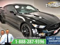 New Price! 2015 Ford Mustang, Black, Completely