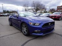 2015 Ford Mustang GT Premium CONVERTIBLE Blue Accident