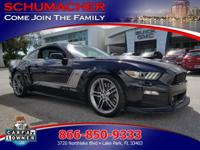 Options:  2015 Ford Mustang Gt Premium 