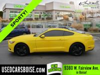 This outstanding example of a 2015 Ford Mustang