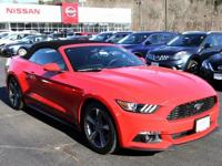 2015 Ford Mustang Race Red V6 LOCAL TRADE, NONE SMOKER,