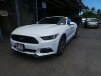 Come see this 2015 Ford Mustang V6. Its Automatic