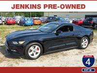 This 2015 Ford Mustang V6 will sell fast Bluetooth,