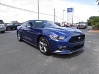 This 2015 Ford Mustang V6 in features: Clean Carfax - 1