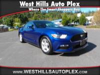 MUSTANG BASE 2D COUPE  Options:  Rear View Monitor In