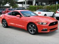 Priced below KBB Fair Purchase Price! Mustang V6, 3.7L