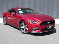 **2015 FORD MUSTANG**V6**AUTOMATIC**CLOTH SEATS**PUSH