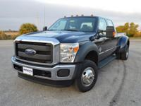 This one owner, low mileage Ford F350 XL CrewCab 4x4