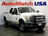 2015 Ford Super Duty F-350 SRW Lariat White Platinum
