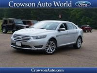 Don't let this awesome 2015 Ford Taurus Limited get