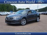 Get away in this 2015 Ford Taurus Limited and