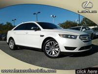 Outstanding design defines the 2015 Ford Taurus. This