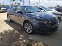 Magnetic Metallic 2015 Ford Taurus Limited FWD 6-Speed
