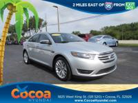 Clean Carfax - 1 Owner. Taurus Limited, 4D Sedan, 3.5L