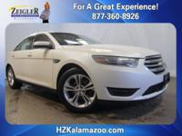 Recent Arrival! 2015 Ford Taurus SEL White **LEATHER