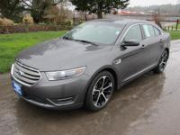 2015 Ford Taurus SEL FWD with leather and voice