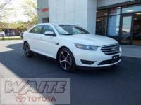 2015 Ford Taurus SEL Oxford White Odometer is 9694
