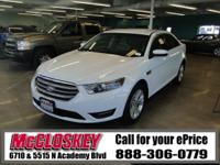 This newer 2015 Ford Taurus comes with Backup Camera,