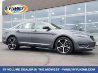 Check out this 2015 Ford Taurus SHO. Its Automatic
