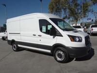 Oxford White 2015 Ford Transit-150 RWD 6-Speed
