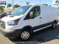 Check out this gently-used 2015 Ford Transit Cargo Van