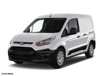 Recent Arrival! 2015 Ford Transit Connect XL White