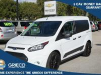 2015 Ford Transit Connect XLT in White, *Carfax