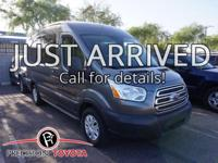 **One Owner** and -Clean Carfax-. Transit-150 XLT.