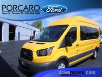 Options:  2015 Ford Transit-350 Xl|Yellow|Pewter