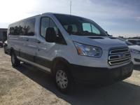Options:  2015 Ford Transit-350|White|3.73 Axle