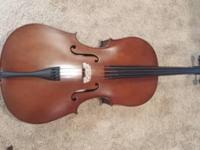 Brand new Classical Strings model 70 cello. Comes with