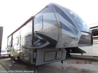 2015 Fuzion 325 New unit, ready to deal, comes with