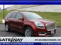 Climb into this terrific 2015 GMC Acadia Denali and