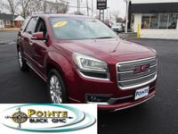 Excellent Condition, GMC Certified, CARFAX 1-Owner.