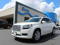 Only 8.5% Sales Tax!!! Clean CARFAX. White Diamond