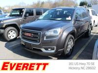 GMC CERTIFIED. All Wheel Drive!!!AWD... Less than 23k