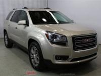 New Price! 2015 GMC Acadia SLT-1 Gold CARFAX One-Owner.