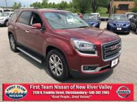 Crimson Red Tintcoat 2015 GMC Acadia SLT-1 AWD 6-Speed