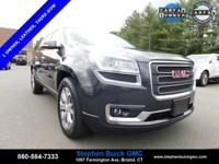 2015 GMC Acadia SLT-1 CARFAX One-Owner. Odometer is