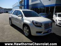 CERTIFIEDCarfax One Owner 2015 GMC Acadia Denali AWD