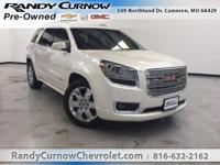 Options:  2015 Gmc Acadia Denali|White Diamond