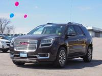 For a smoother ride, opt for this 2015 GMC Acadia
