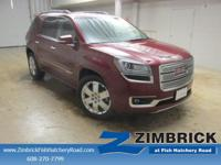 Options:  2015 Gmc Acadia Awd 4Dr Denali|4-Wheel