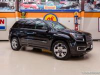 2015 GMC Acadia Denali  Beautiful Black 2015 GMC Acadia