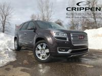 New Price! Certified. CARFAX One-Owner. Acadia Denali,
