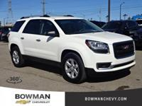 2015 ACADIA SLE-2 with Low Miles and One Owner Clean