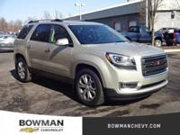 2015 Acadia SLT-1 Clean CARFAX One Owner **Bluetooth