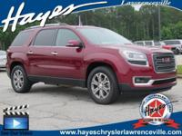 2015 GMC Acadia SLT-1 3.6L V6 SIDI 6-Speed Automatic